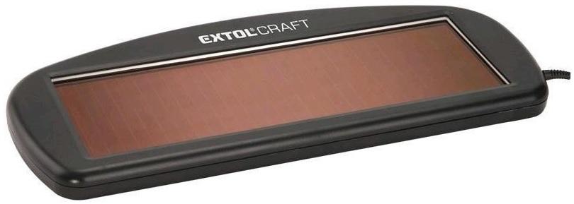 Extol Craft 417310 Dobíječka autobaterií solární 1,5W/100mA