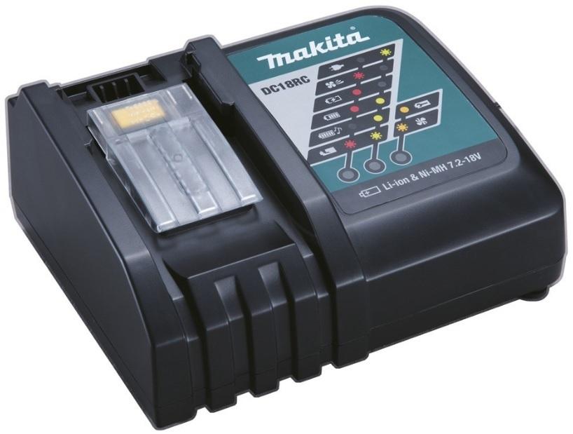 Makita DC18RC Nabíječka akumulátorů pro 7,2-18V