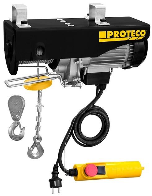 Proteco 51.09-NLE-125 Naviják lanový elektrický 125/250kg, 500W
