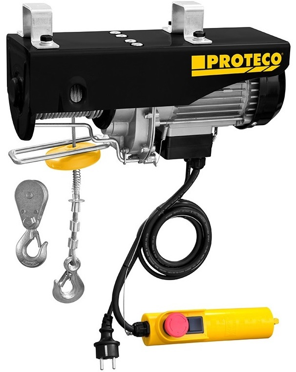 Proteco 51.09-NLE-500 Naviják lanový elektrický 500/999kg, 1300W