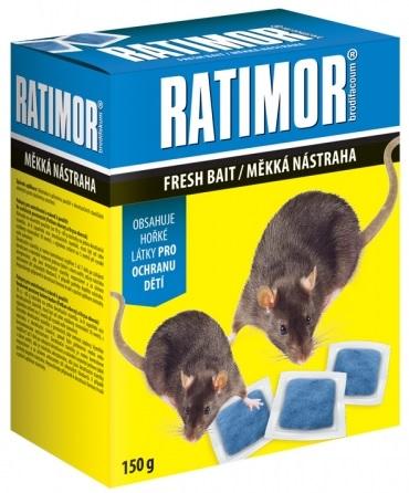 Rodenticid RATIMOR měkká návnada 150g