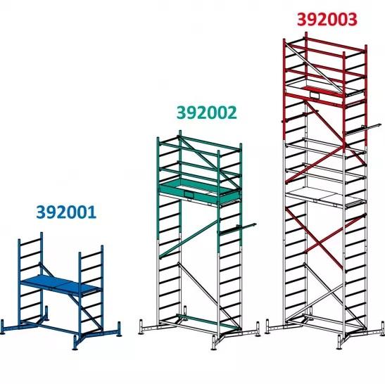 Krause Lešení hliníkové Climtec 3m, modul 1