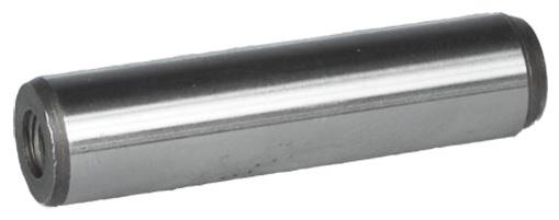 Kolíky válcové kalené s vnitřním závitem DIN 7979D