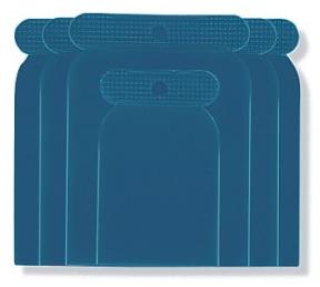 Špachtle karosářská plastová 4 ks