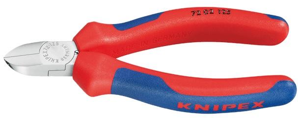 Knipex Kleště boční štípací 125 mm na plasty