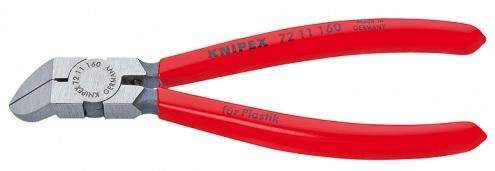 Knipex Kleště boční štípací zahnuté (45°) 160 mm na plasty