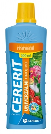 Hnojivo Cererit mineral univerzální 500 ml
