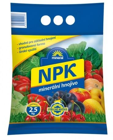 Hnojivo NPK Mineral granulované 2,5 kg
