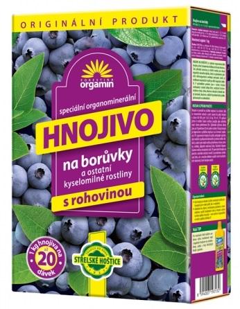 Hnojivo Orgamin na borůvky 1 kg