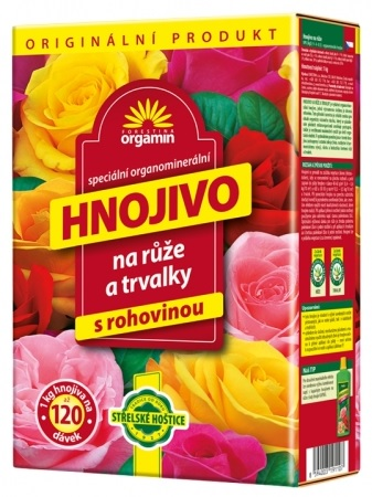 Hnojivo Orgamin na růže 1 kg