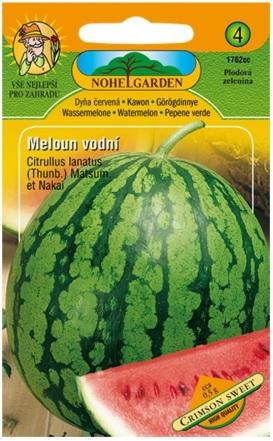 Meloun vodní červený