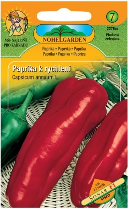 Paprika zeleninová k rychlení SONAR F1, červená