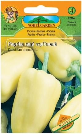 Paprika zeleninová raná BONETA, na pole