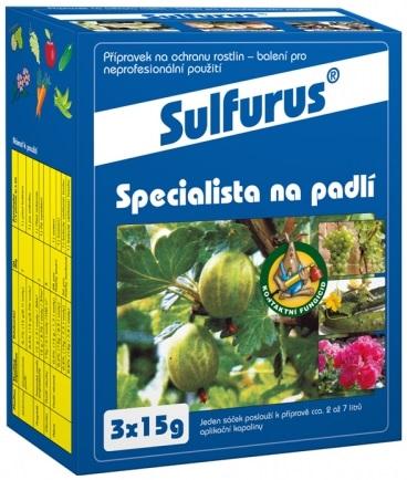Fungicid SULFURUS 3x15g