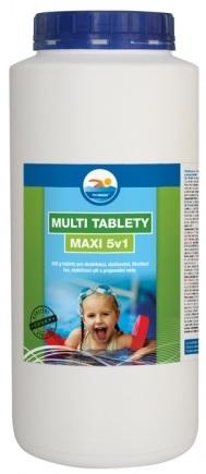Tablety MULTI MAXI 5v1 do bazénu 1 kg