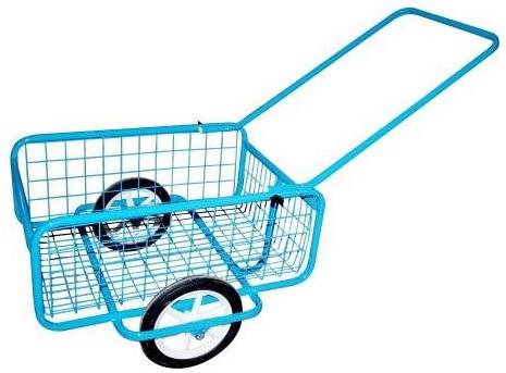 Vozík Popular I, gumová obruč 418x618x232mm