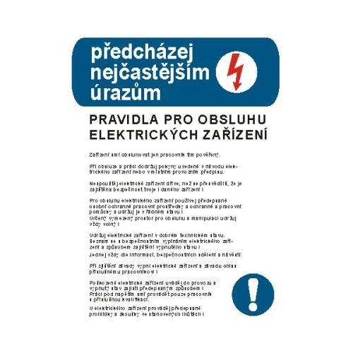 Pravidla pro obsluhu elektrických zařízení