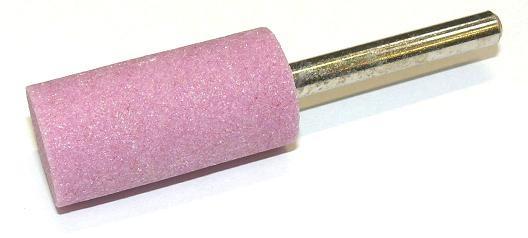 Brusná tělíska válcová - světle růžový korund s keramickým pojivem