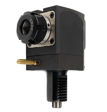Radiální vrtací a frézovací jednotka DIN5482