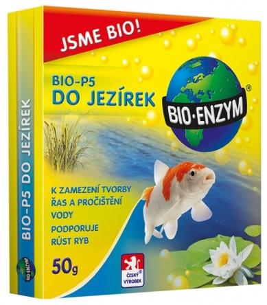 Aktivátor do jezírek BIO-P5 proti řasám a znečištění 50g