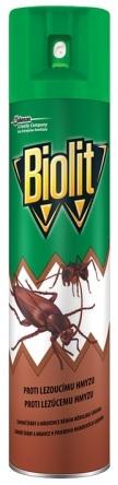 Sprej BIOLIT proti lezoucímu hmyzu 400ml