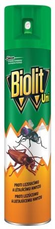 Sprej BIOLIT UNI proti létajícímu a lezoucímu hmyzu 400ml