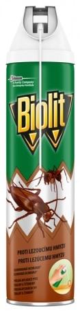 Insekticid BIOLIT EXTRA x lezoucímu hmyzu+aplikátor 400 ml