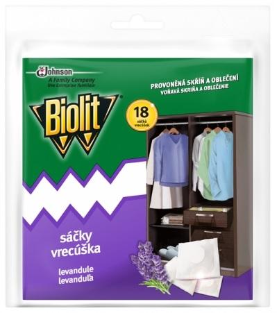 Insekticid BIOLIT proti molům s vůní levandule sáček