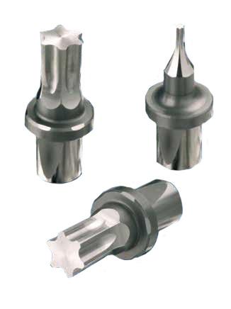 Nástroje pro kyvné protlačování (Broaches for polygonal holes) - TORX