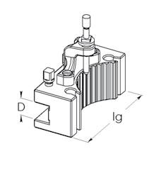 Nástrojový držáky Multifix - D