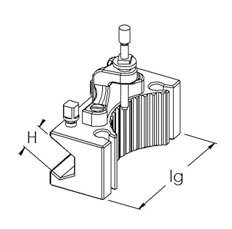 Nástrojový držáky Multifix - H