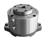 Kleštinový statický upínač s ovládáním pneumaticky nebo hydraulicky