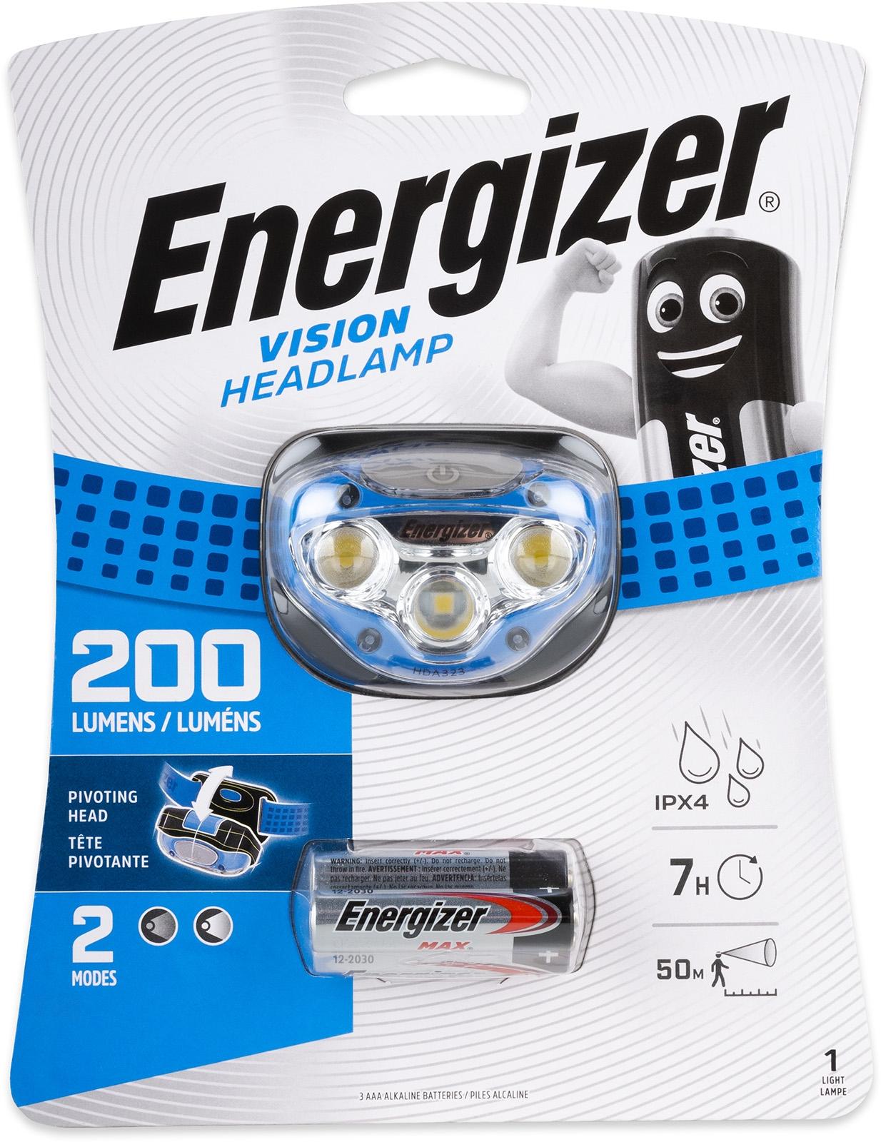 LED čelovka ENERGIZER VISION 100lm
