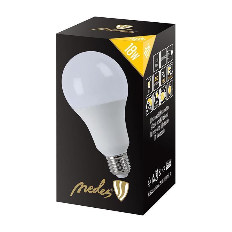 NEDES ZLS517 LED 18W - A80 E27 SMD 3000K
