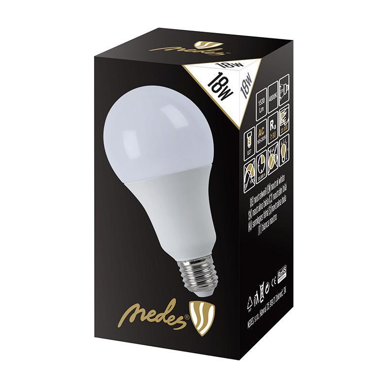 NEDES ZLS527 LED 18W - A80 E27 SMD 4000K