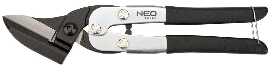 Neo Tools Nůžky na plech vyhnuté 250mm