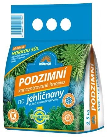 Hnojivo MINERAL podzimní na jehličnany 2,5kg