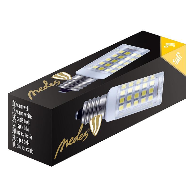 NEDES ZLS012C LED žárovka 5W - E14 SMD 2800K