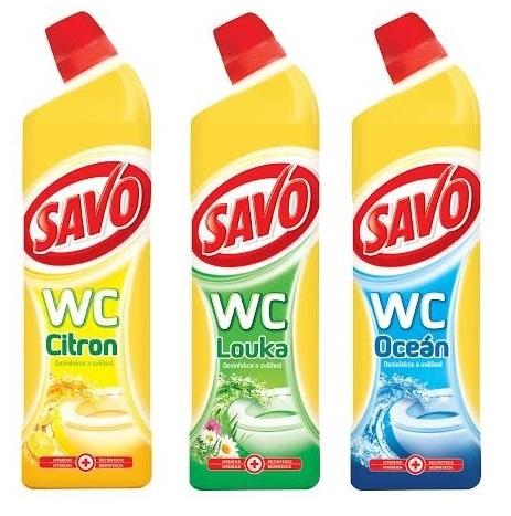 SAVO WC dezinfekce 750 ml