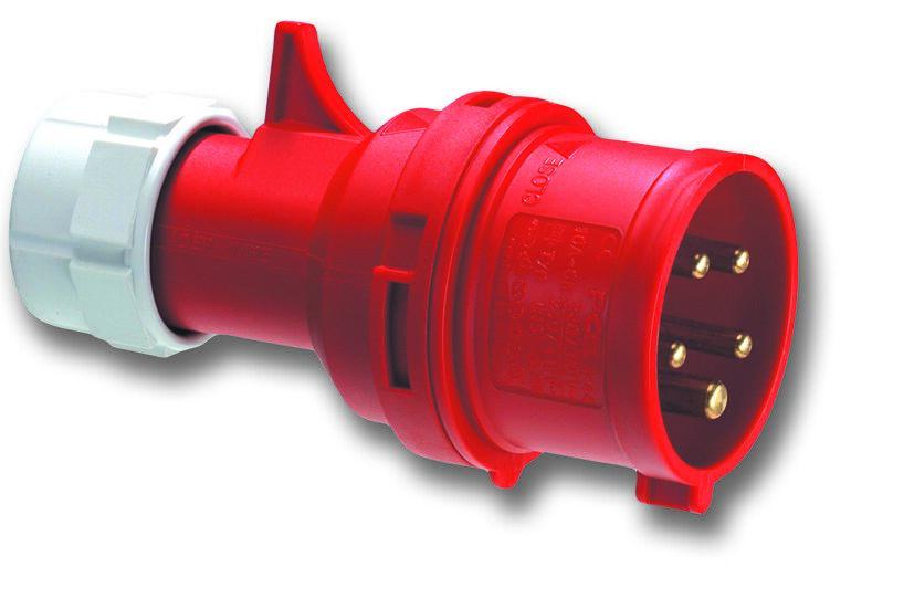 PCE 025-6 vidlice 5-pólová 32A / 400V, 6h, IP44