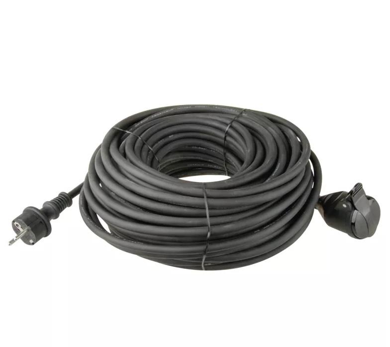 EMOS - Prodlužovací kabel gumový – spojka, 20m, 3x 1,5mm2