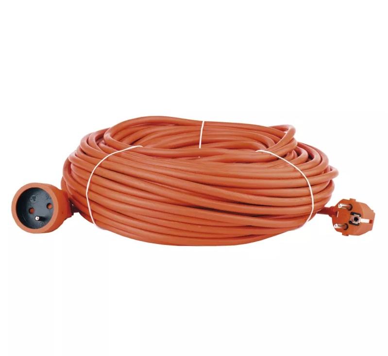EMOS Prodlužovací kabel – spojka, 40m, oranžový