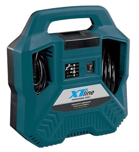 XTline XT2011 Kompresor bez olejový,1,1KW 8bar + příslušenství 8-dílů