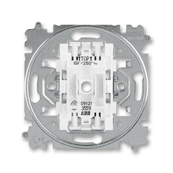 ABB 3559-A87345 Přístroj ovládače zapínacího dvojitého řazení 1/0+1/0