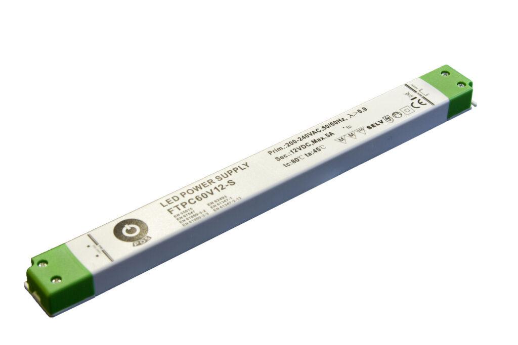 WIRELI 3205109120 Zdroj napětí 12V 60W SLIM IP20 POS POWER typ FTPC60V12-S