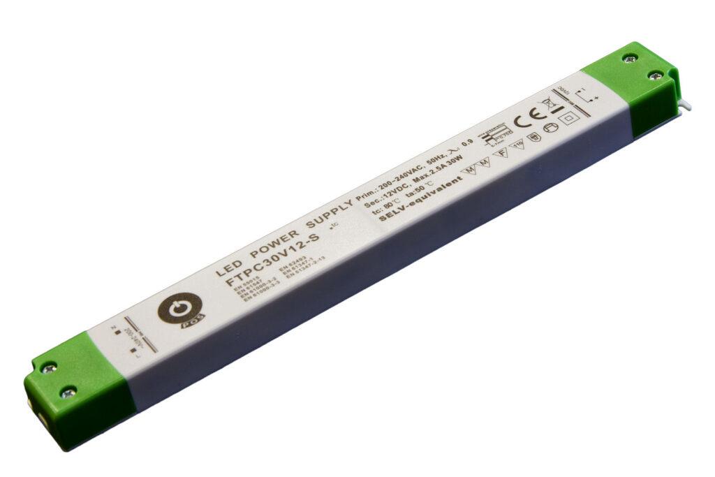 WIRELI 3205108120 Zdroj napětí 12V 30W SLIM IP20 POS POWER typ FTPC30V12-S