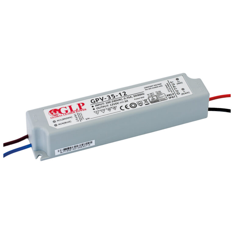 WIRELI 3205055120 Zdroj napětí 12V 35W 3A IP67 GLP typ GPV-35-12