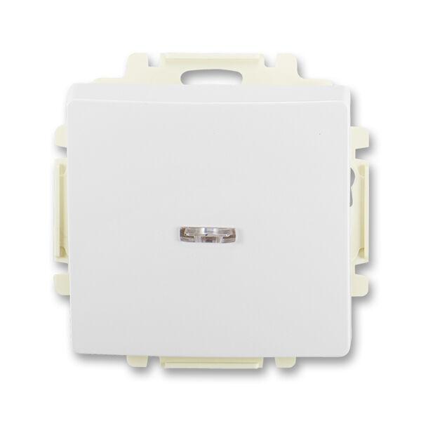 ABB 3557G-A91342 B1 Ovládač zapínací s krytem, s průzorem, řazení 1/0So