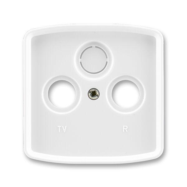 ABB 5011A-A00300 B Kryt TV+R+SAT zásuvky