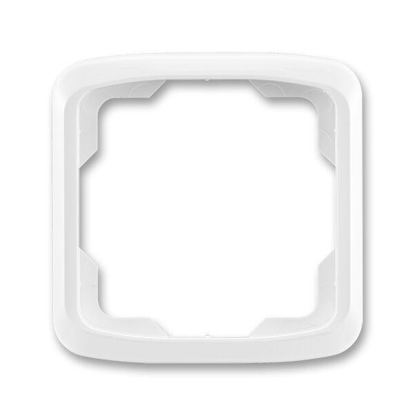 ABB 3901A-B10 B Rámeček jednonásobný Tango bílá